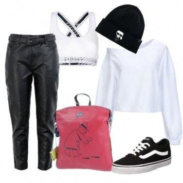 Outfit Un solo tocco di colore