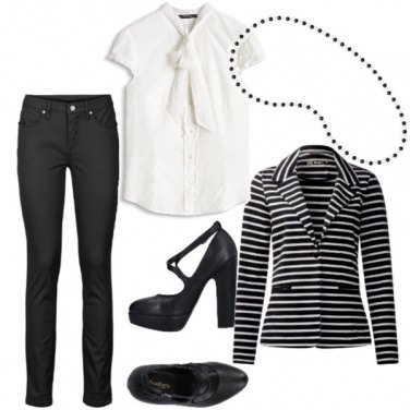 Outfit Semplicemente eleganza