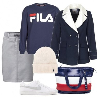 Outfit Gonna e sneakers