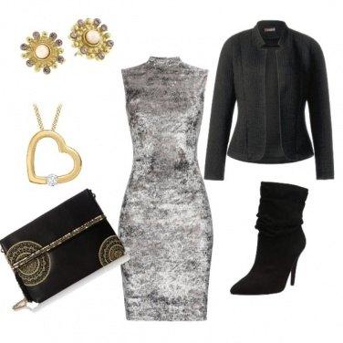 Outfit Chic con un tocco di malizia