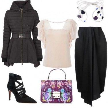 Outfit Il piumino elegante!