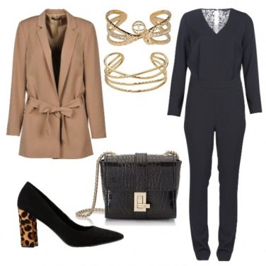 Outfit Camel coat