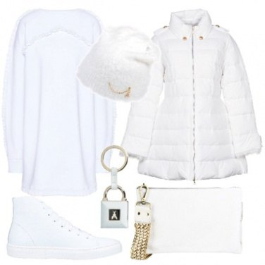 Outfit Bianco urban