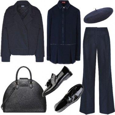 Outfit Le garçon en bleu