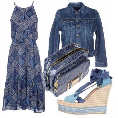 Outfit Puro blu