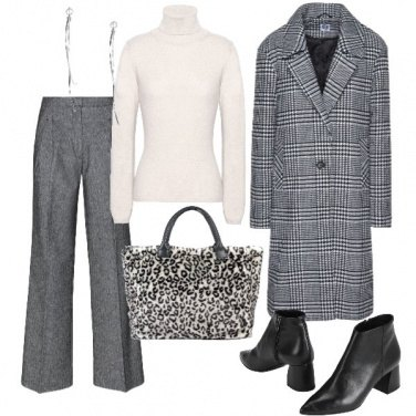 Outfit Principe di galles & maculato