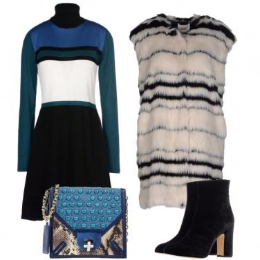 Outfit Tris di sfumature