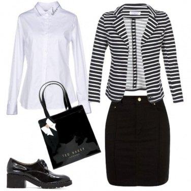 Outfit Classica al lavoro
