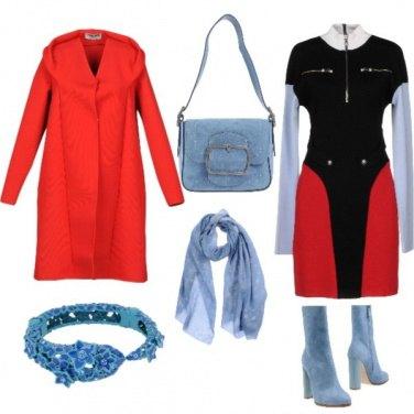 Outfit Serata celestiale