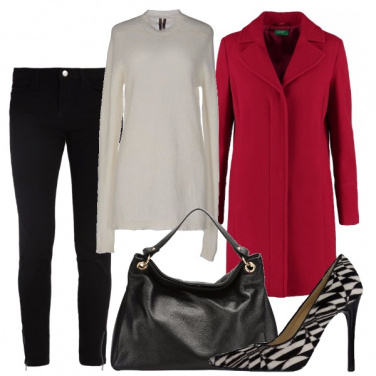 Outfit Rosso vivo