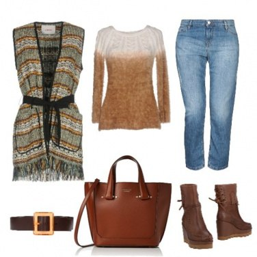 Outfit Tofly_cardigan senza maniche