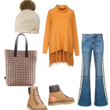 Outfit Tofly_università con il freddo