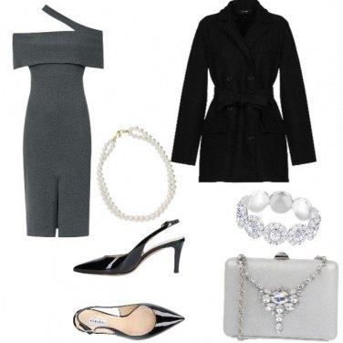 Outfit Sexy, abito asimetrico, wow