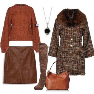 Outfit Autunno in brown