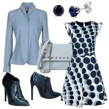 Outfit Pois eleganti