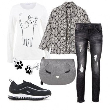 Outfit I love my Cat