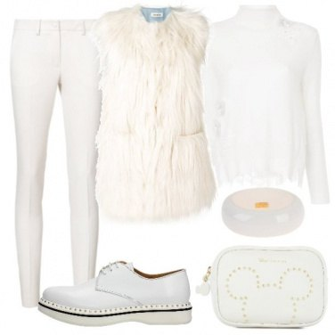 Outfit Unica tonalità ... bianco