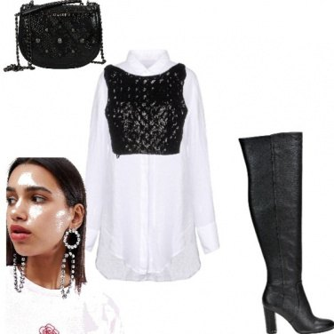 Outfit Camicia bianca