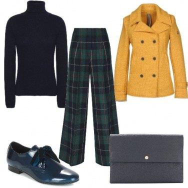 Outfit Pantaloni tartan