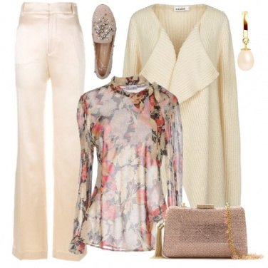 Outfit La blusa in voile