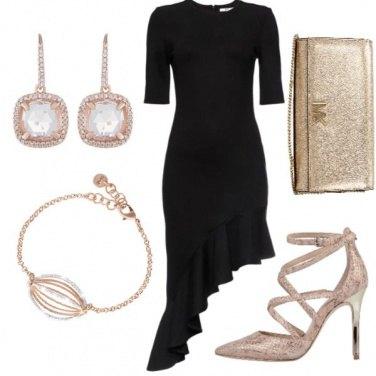Outfit Una donna tutta d oro