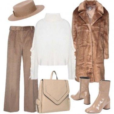 Outfit Declinazioni di beige