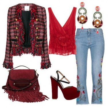 Outfit Cuore gitano