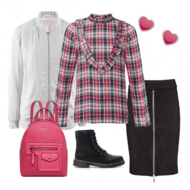 Outfit Rosa teen