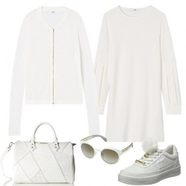 Outfit Bianco totale
