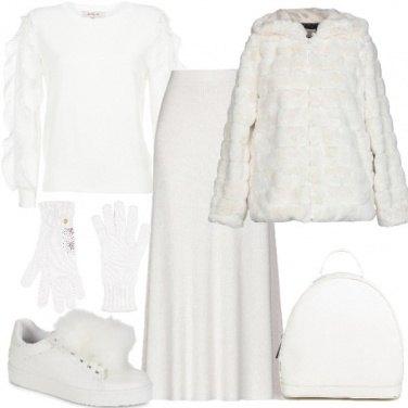 Outfit Bianco morbido