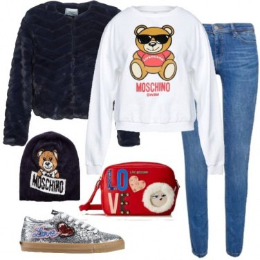 Outfit Moschino urban