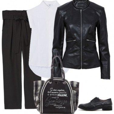Outfit Trendy stringata