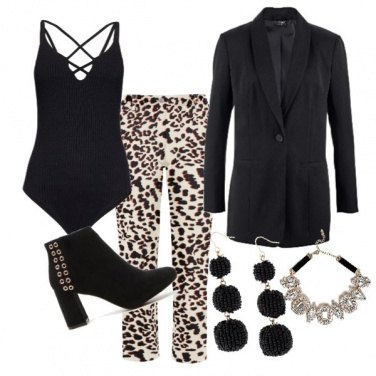 Outfit Animalier style