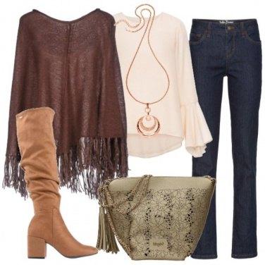 Outfit Mantella e stivale