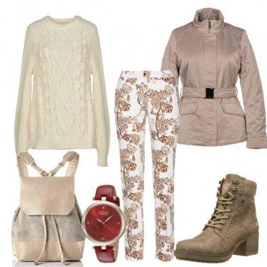 Outfit L'orologio rosso prezioso