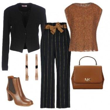Outfit Caramello