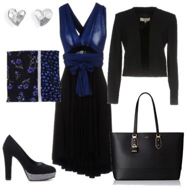 Outfit Blu&nero