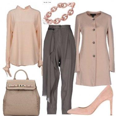 Outfit Sobrietà ed eleganza