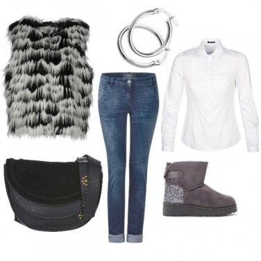 Outfit Eco gilet