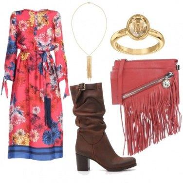 Outfit Folk romantico