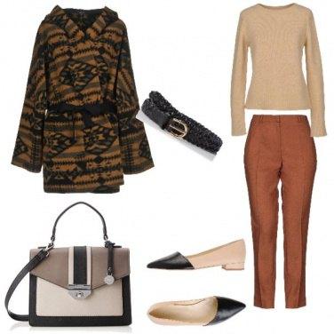 Outfit Bon Ton, colori autunnali