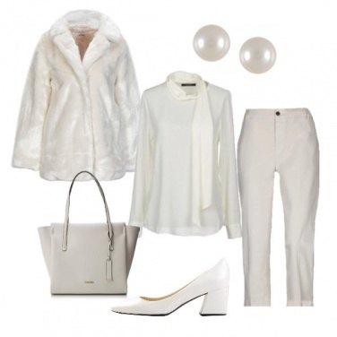 Outfit Tutta in bianco