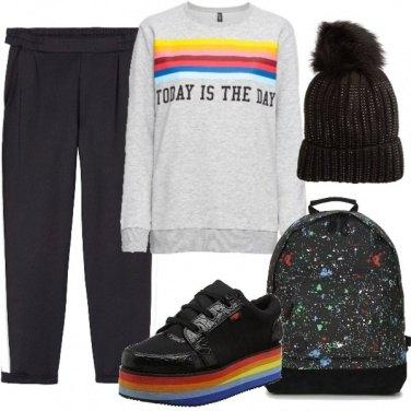 Outfit Urban rainbow