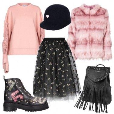 Outfit Femminile metropolitana