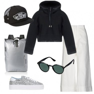 Outfit Glitter sporty