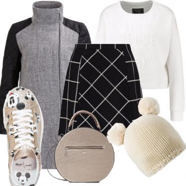 Outfit Scacchi in città