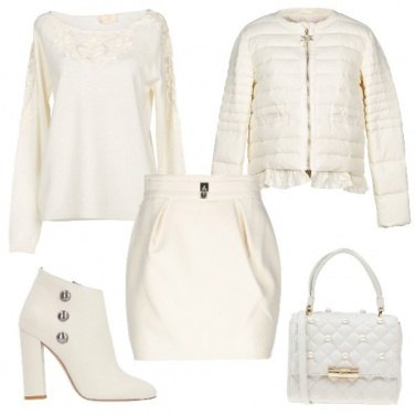 Outfit Bianca bianca