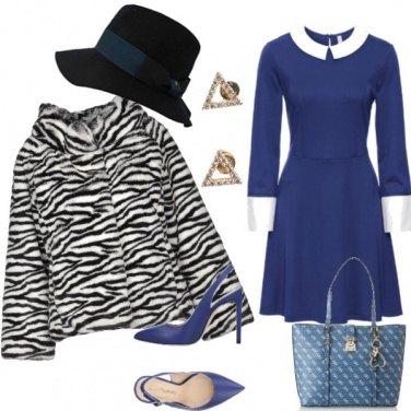 Outfit Bon ton zebrato