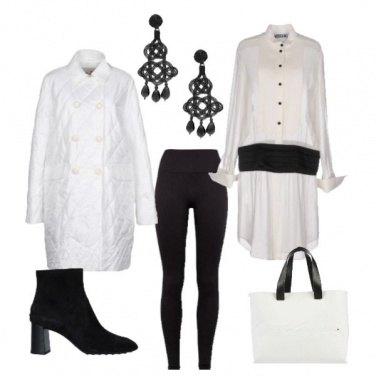 Outfit Regina sulla scacchiera