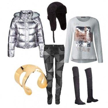 Outfit Urbain à la folie
